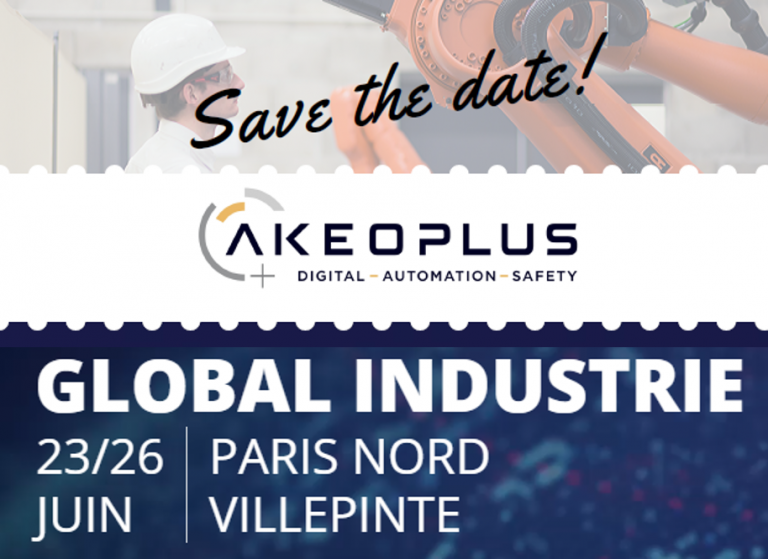 AKEOPLUS vous invite à Global Industrie 2020